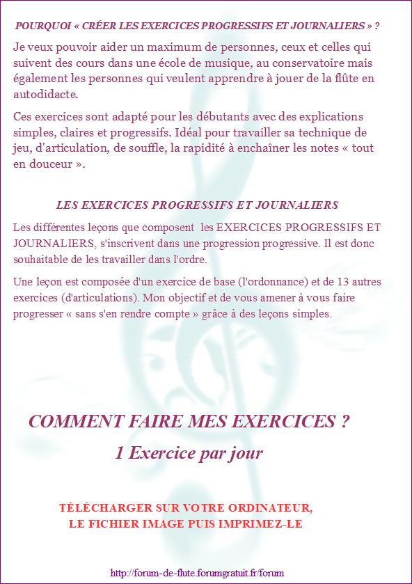 AVANT DE COMMENCER LES EXERCICES Exercices-progressifs-journaliers1