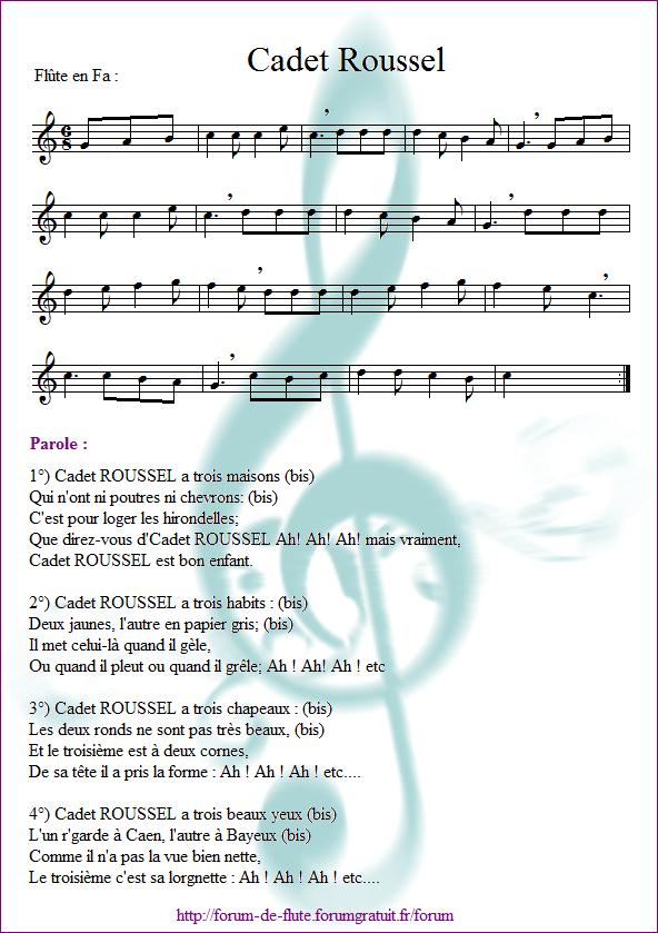 3) Cadet Roussel Cadet_roussel2