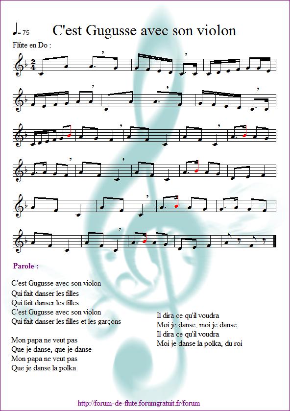 4) C'est Gugusse avec son violon Gugusse