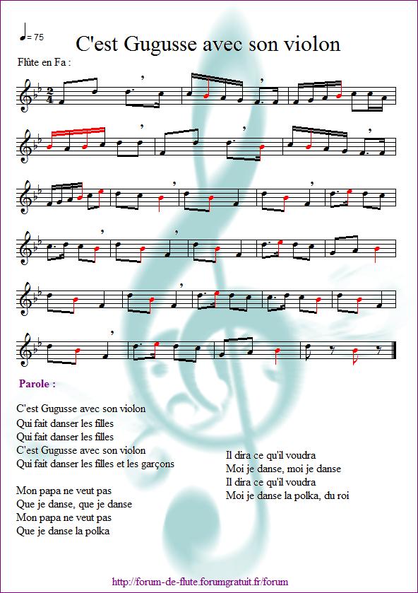 4) C'est Gugusse avec son violon Gugusse2
