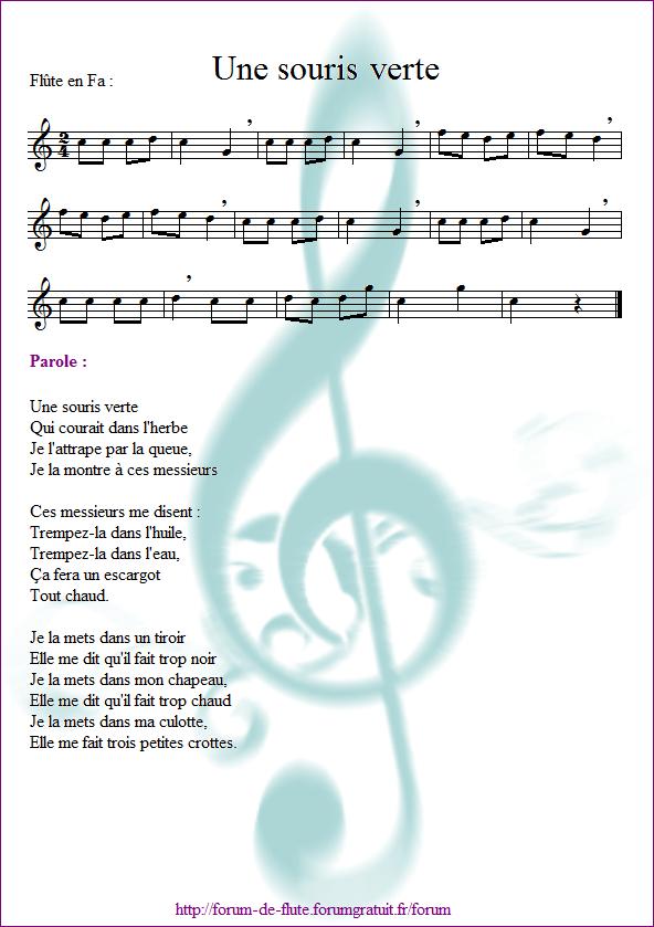 3) Une souris verte Une_souris_verte2