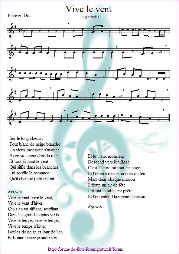 """4) Vive le vent """"Jingle bells"""" Vive_le_vent"""