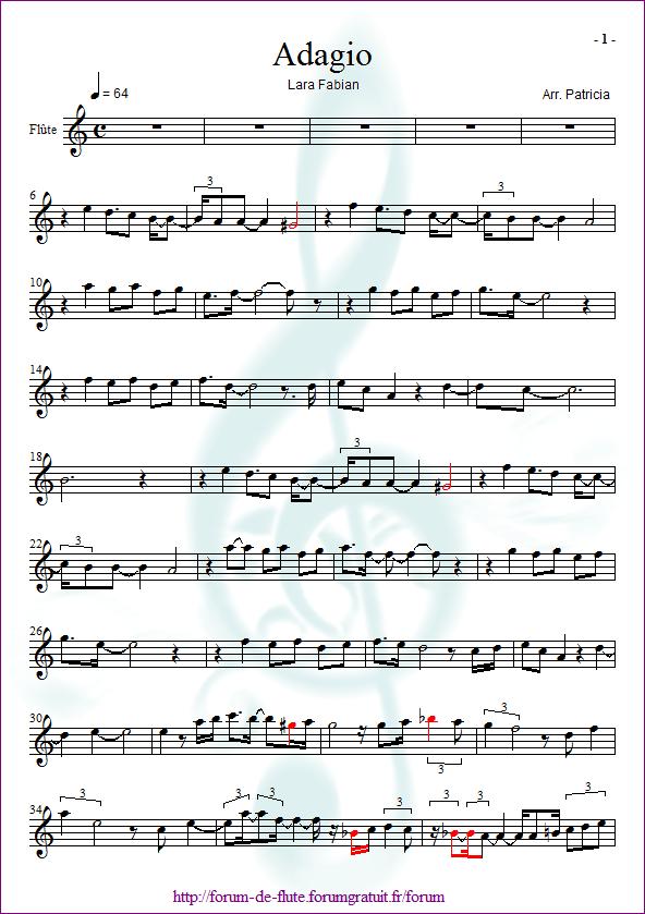3) LES ALTÉRATIONS Adagio-lara-fabian