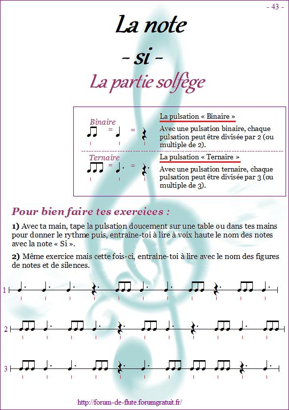 Module 4 : Mib, Si grave, La aigu - Page 41 à 48 Methode-flute-a-bec-Alto_page-43-note_si