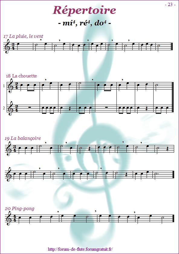 Module 1 : Mi, Ré, Do - Page 16 à 24 Methode-flute-a-bec-alto_page-23_Repertoire-mi-re-do