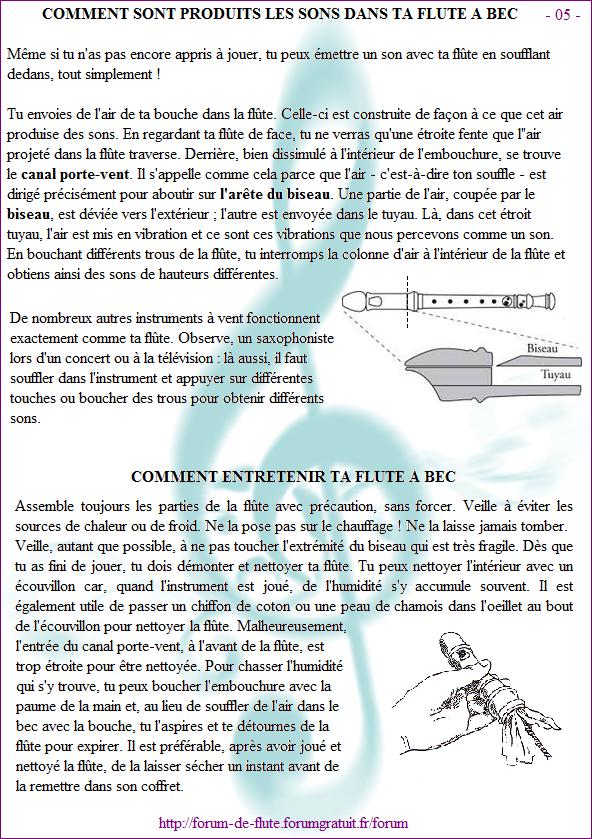 Avant de commencer - Page 1 à 15 Methode-flute-a-bec_page-5-Comment-sont-produits-les-sons_Comment-entretenir-ta-flute