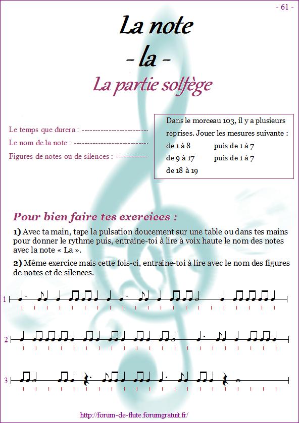 Module 6 : Do# grave, Mib grave, La aigu - Page 57 à 64 Methode-flute-a-bec_page-61-note_la
