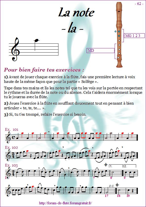 Module 6 : Do# grave, Mib grave, La aigu - Page 57 à 64 Methode-flute-a-bec_page-62-note_la