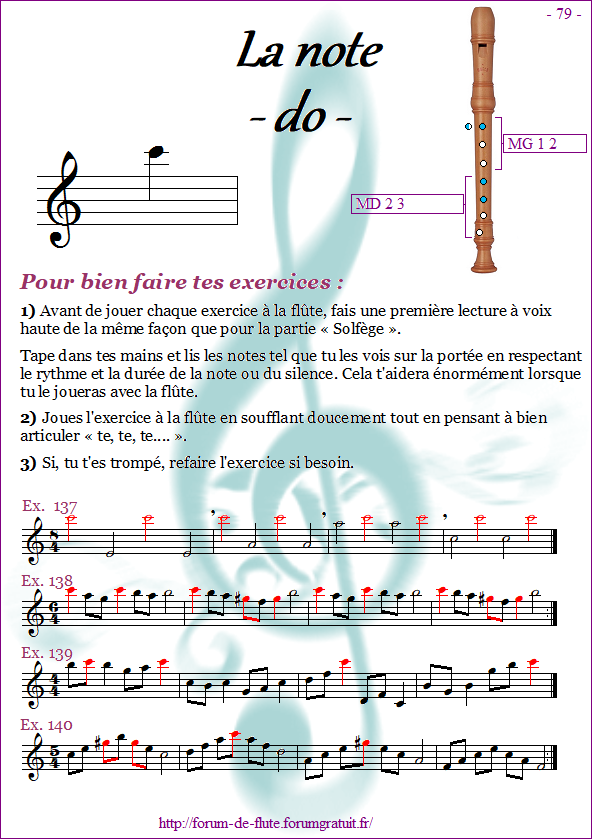 Module 8 : Sol# aigu, Si aigu, Do suraigu - page 74 à 81 Methode-flute-a-bec_page-79-note_do